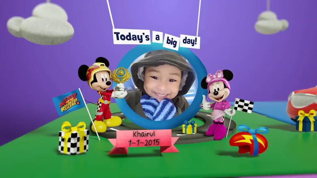 Disney Junior Birthday Book 2019 January Album 4