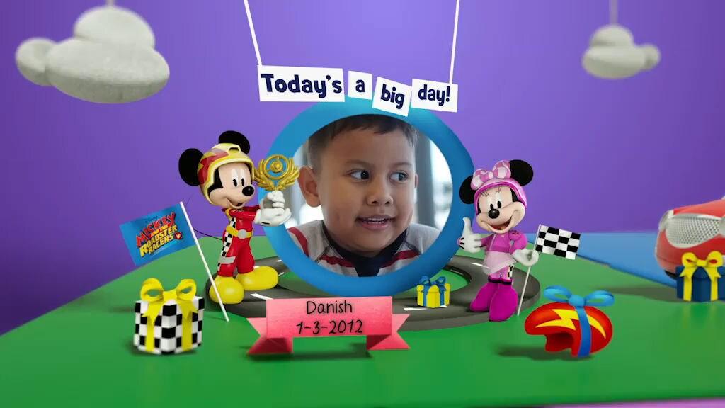 Disney Junior Birthday Book 2019 March Album 2