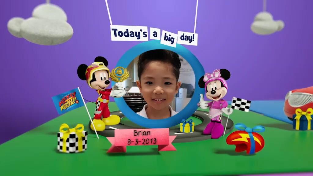 Disney Junior Birthday Book 2019 March Album 1