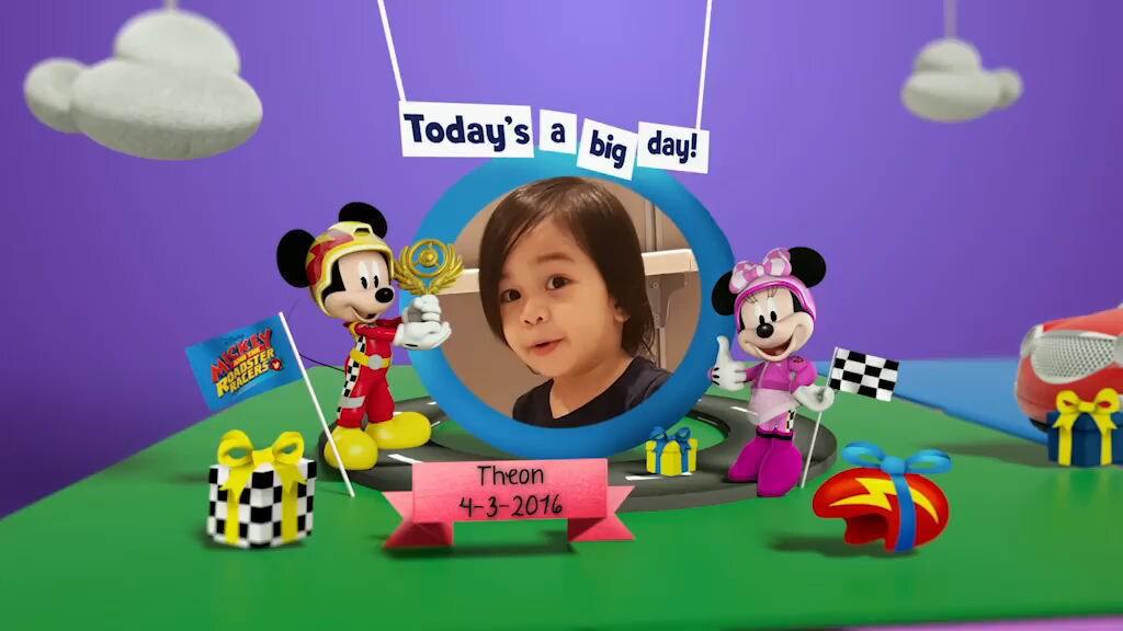 Disney Junior Birthday Book 2019 March Album 3