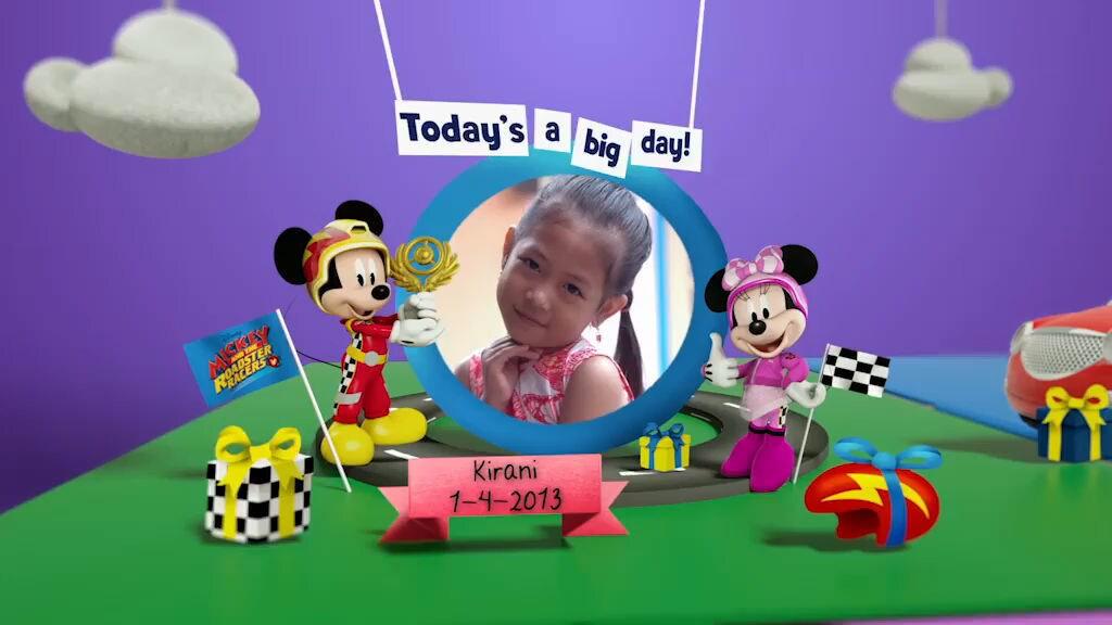 Disney Junior Birthday Book 2019 April Album 6