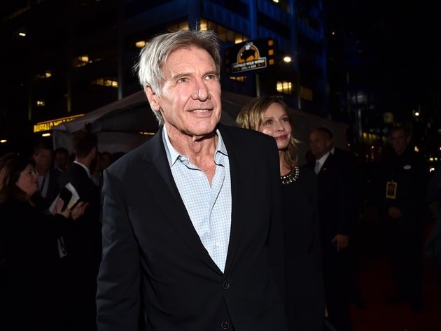 Harrison Ford, better known to Star Wars fans as Han Solo, looked happy to be at the much-awaited...