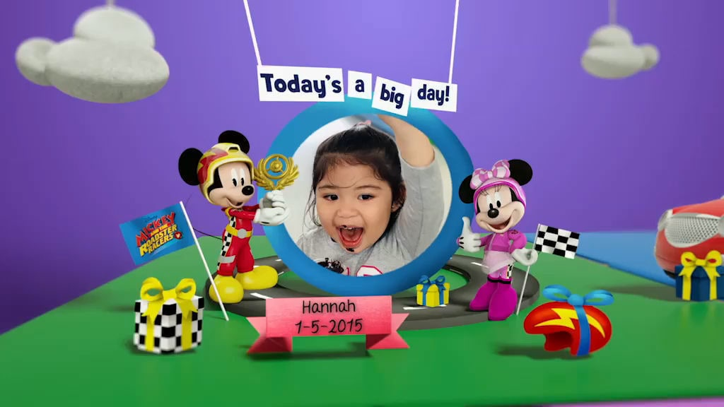 Disney Junior Birthday Book 2019 May Album 4