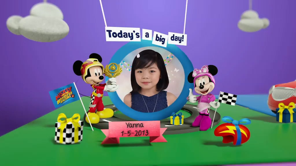 Disney Junior Birthday Book 2019 May Album 3