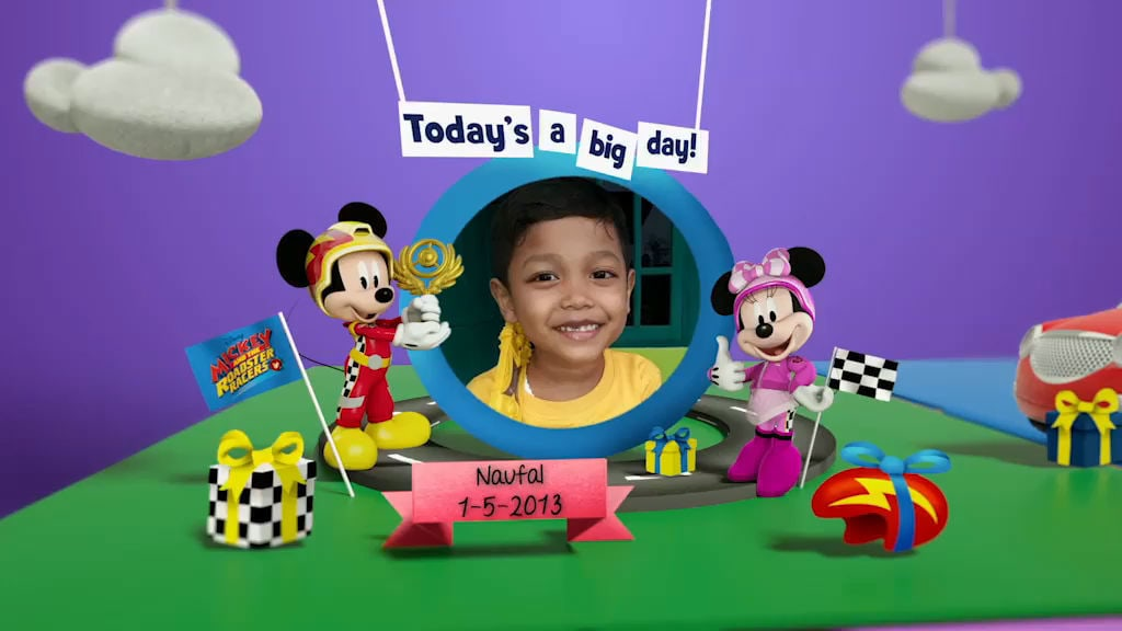 Disney Junior Birthday Book 2019 May Album 2
