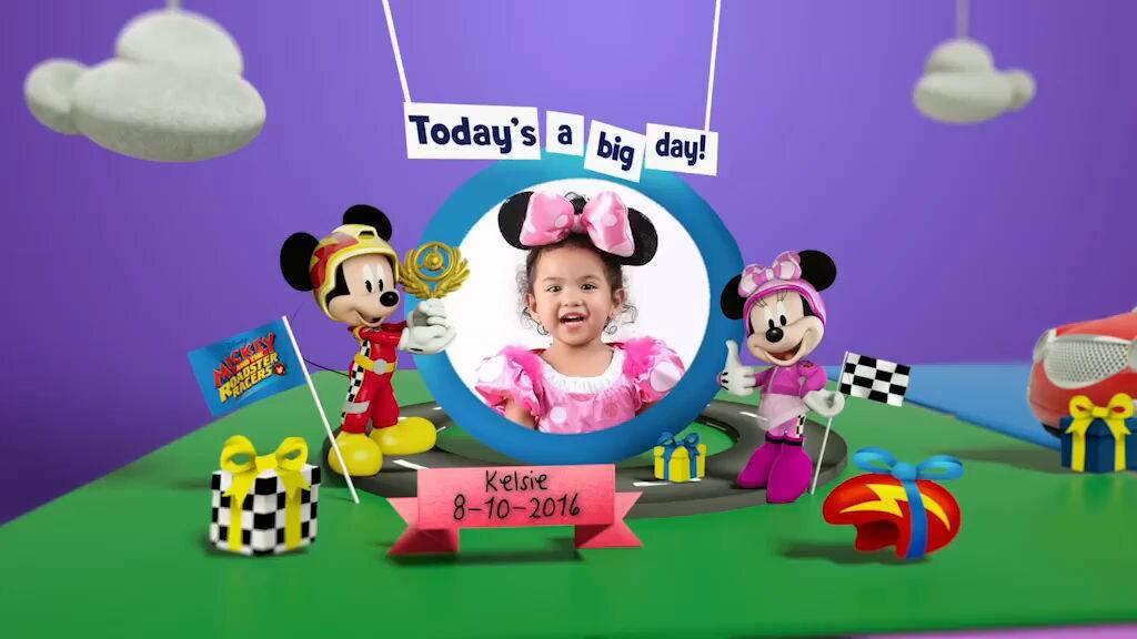 Disney Junior Birthday Book 2019 October Album 4