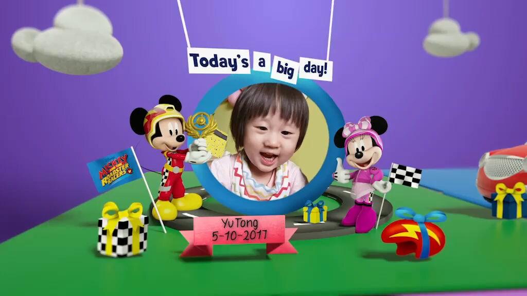 Disney Junior Birthday Book 2019 October Album 1