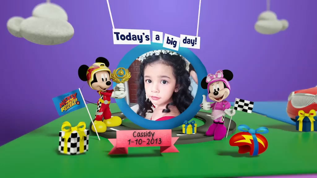 Disney Junior Birthday Book 2019 October Album 12
