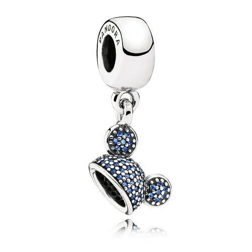 Mickey Mouse Disneyland 60th Anniversary Ear Hat Charm by Pandora Jewelry