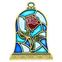Image of Beauty and the Beast Stained Glass Pin # 1