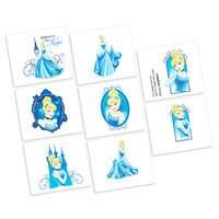 Cinderella Tattoos - 2 Pack