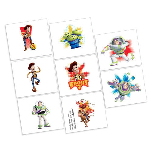 Toy Story Tattoos - 2 Pack