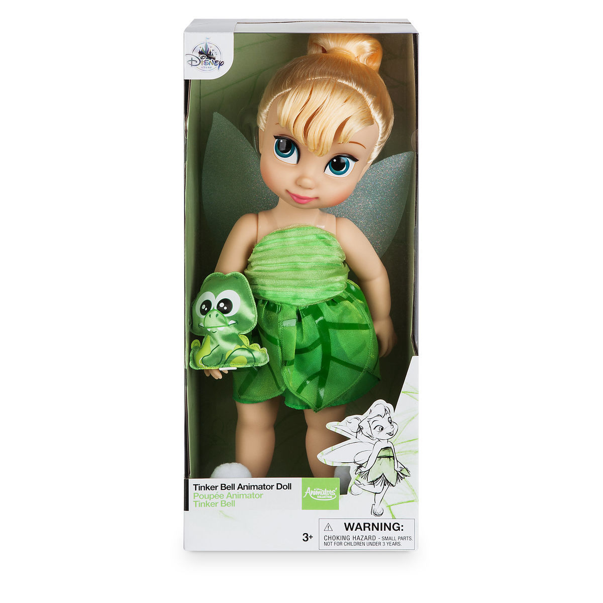 Product Image of Disney Animators  Collection Tinker Bell Doll - 16     2 2706c1ccb1