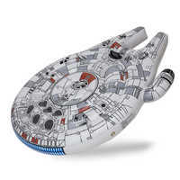 Image of Millennium Falcon Inflatable Ride-On - Star Wars # 1