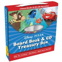 PIXAR Board Book & CD Treasury Box
