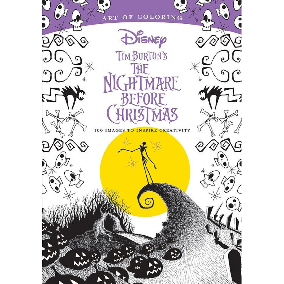 Tim Burtons The Nightmare Before Christmas Art Of Coloring Book