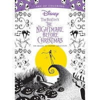 Tim Burton's The Nightmare Before Christmas Art of Coloring Book