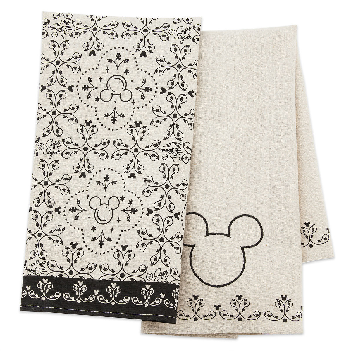product image of mickey mouse icon kitchen towel set disney kitchen 1 - Disney Kitchen