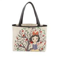 Snow White Canvas Tote Bag