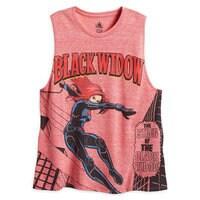 Black Widow Tank Tee for Women