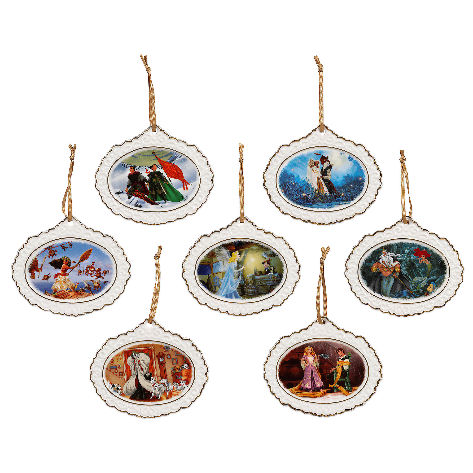 Disney Designer Collection Ornament Set - Limited Edition
