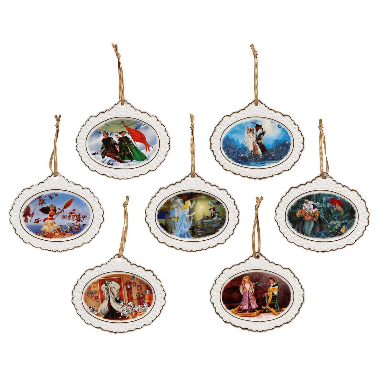 Disney Designer Collection Ornament Set - Limited Edition | shopDisney