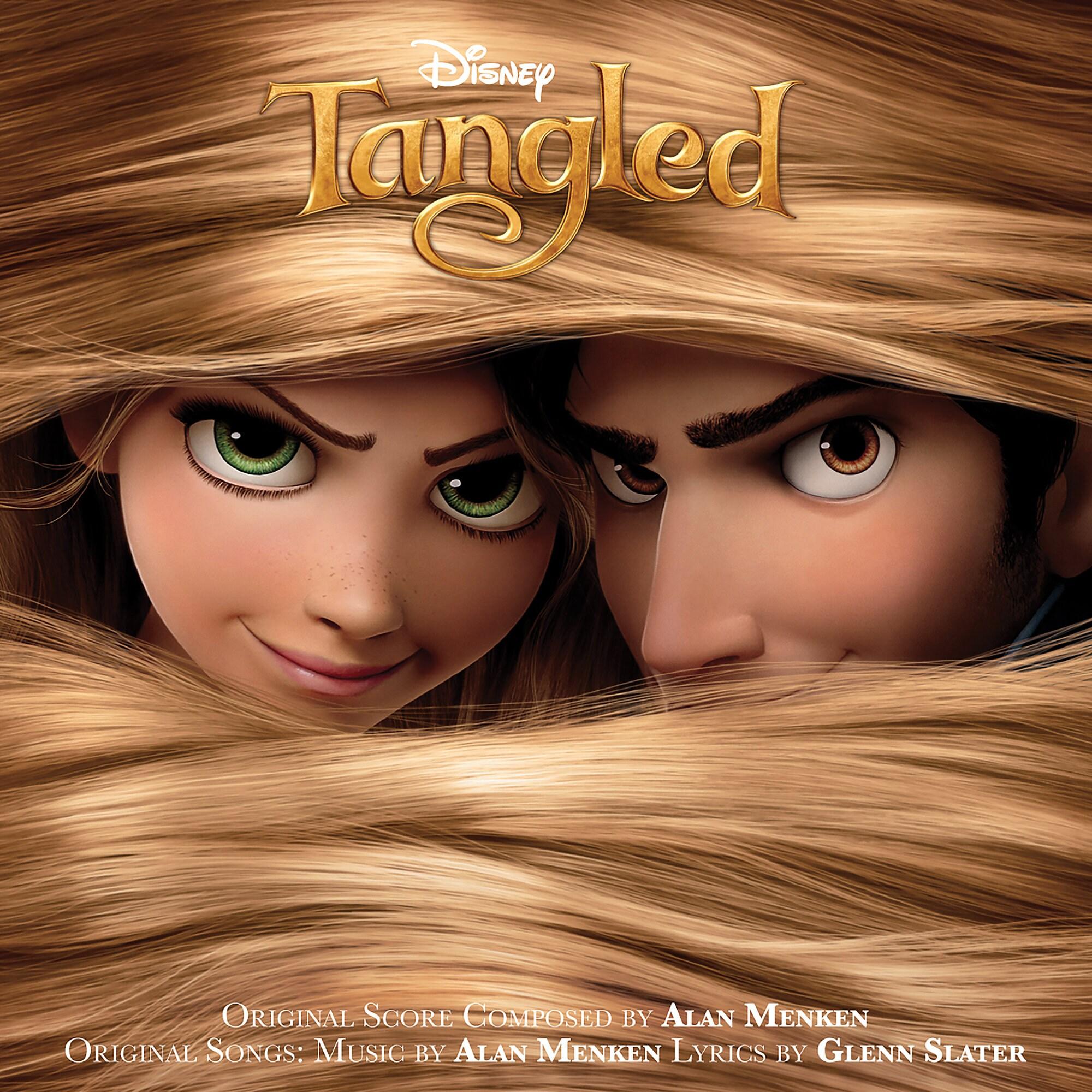Tangled Soundtrack CD