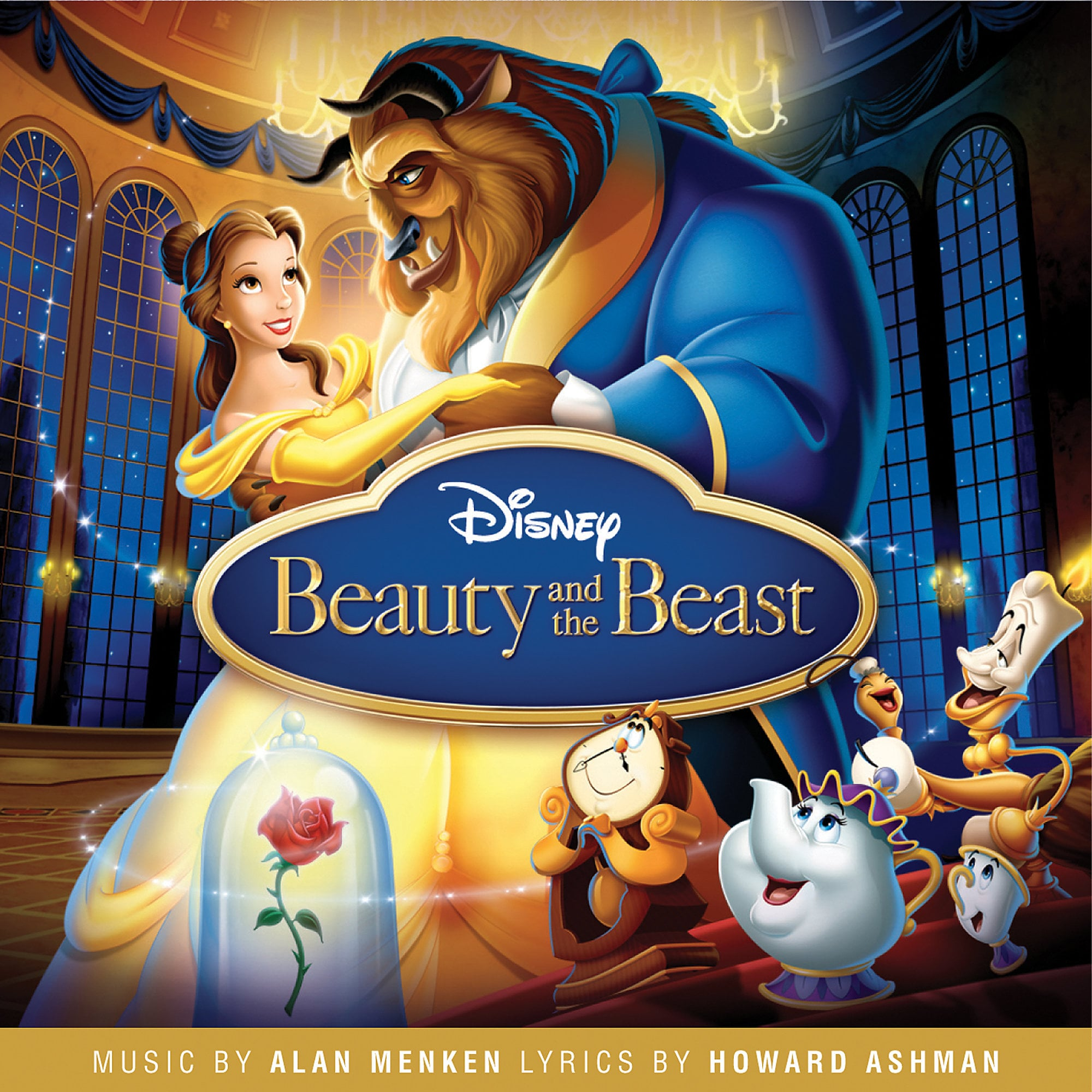 Beauty and the Beast Soundtrack CD