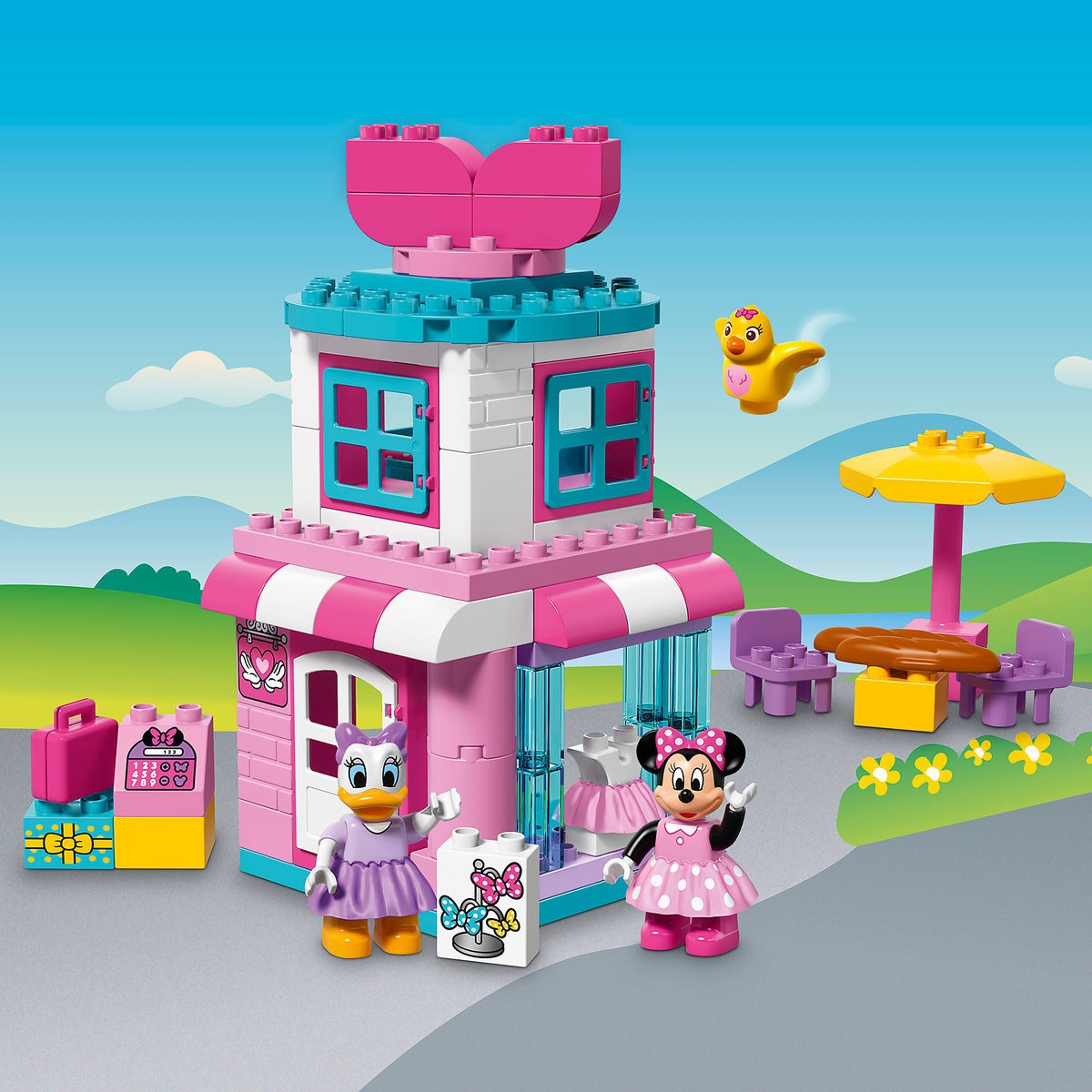 Minnie Mouse Bow-tique Playset by LEGO | shopDisney