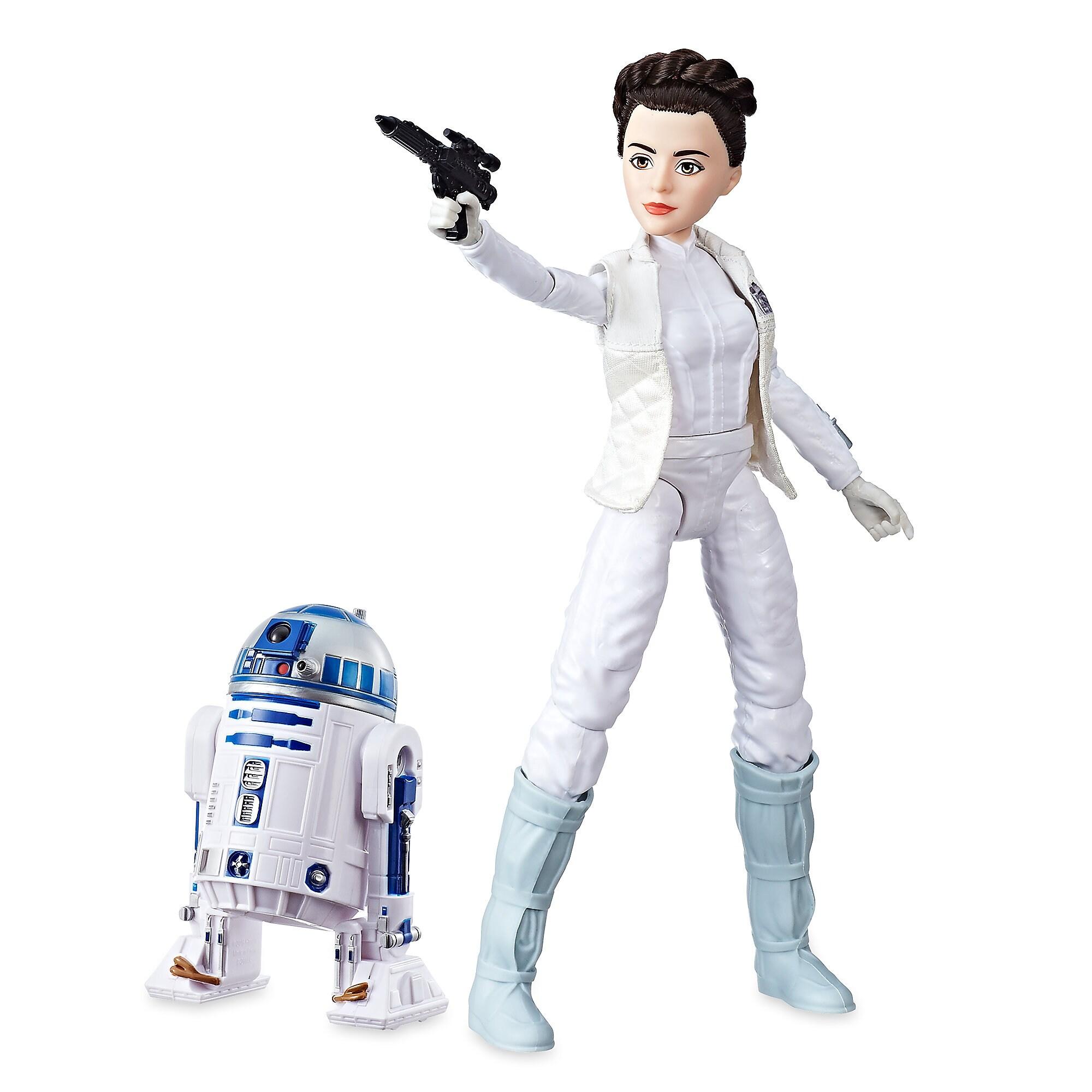 Princess Leia Organa & R2-D2 Action Figure Set - Star Wars: Forces of Destiny