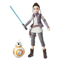 Image of Rey of Jakku & BB-8 Action Figure Set - Star Wars: Forces of Destiny # 1