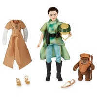 Image of Princess Leia Organa & Wicket the Ewok Action Figure Set - Star Wars: Forces of Destiny # 1