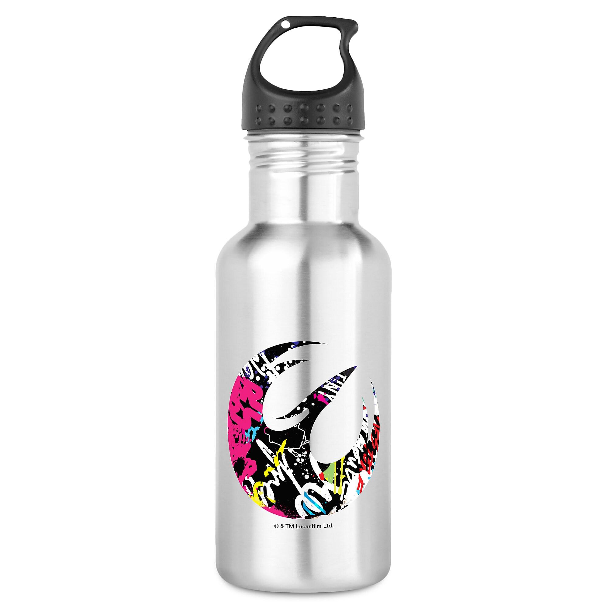 Star Wars Sabine Badge Water Bottle - Customizable