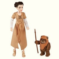 Image of Princess Leia Organa & Wicket the Ewok Action Figure Set - Star Wars: Forces of Destiny # 3