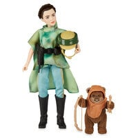 Princess Leia Organa & Wicket the Ewok Action Figure Set - Star Wars: Forces of Destiny