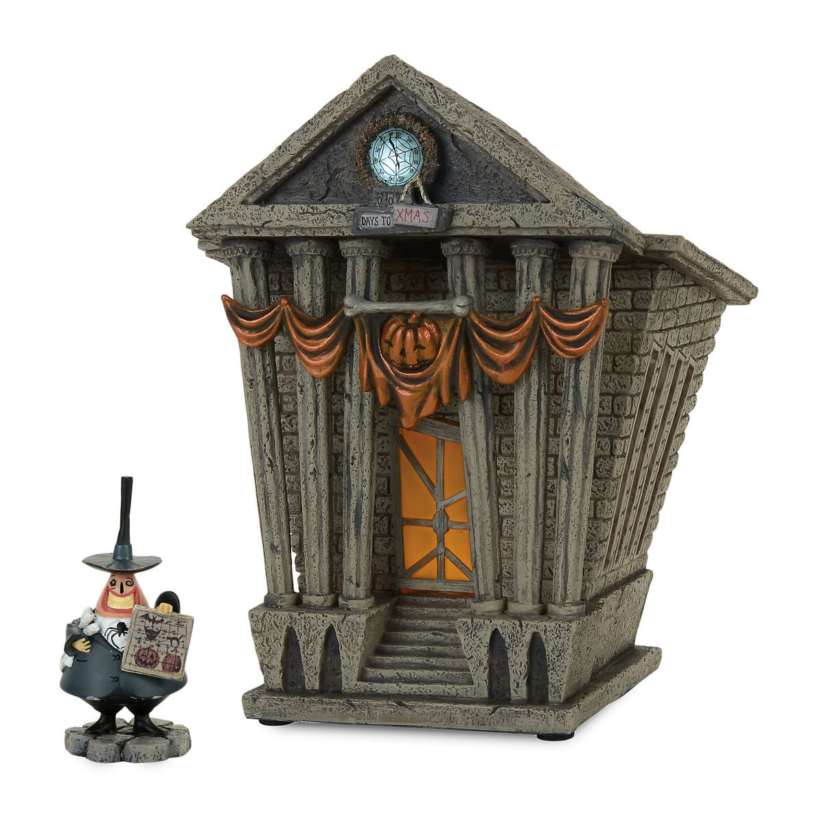 halloween town city hall - tim burton's the nightmare before