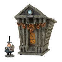 Image of Halloween Town City Hall - Tim Burton's The Nightmare Before Christmas Village by Dept. 56 # 1