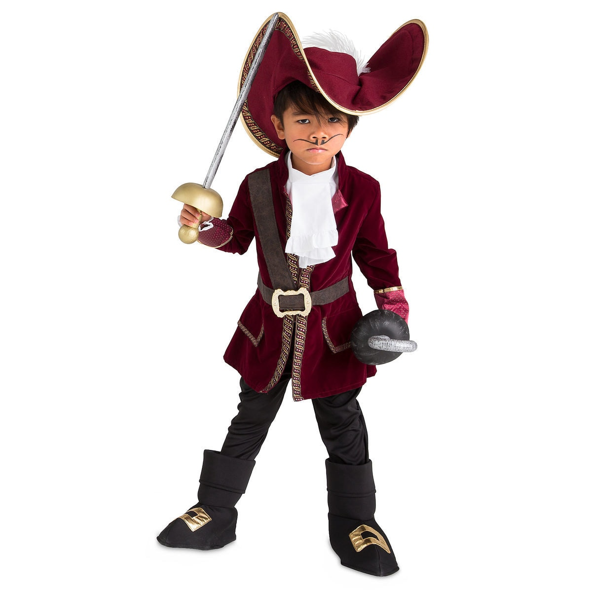 captain hook costume for kids collection peter pan shopdisney