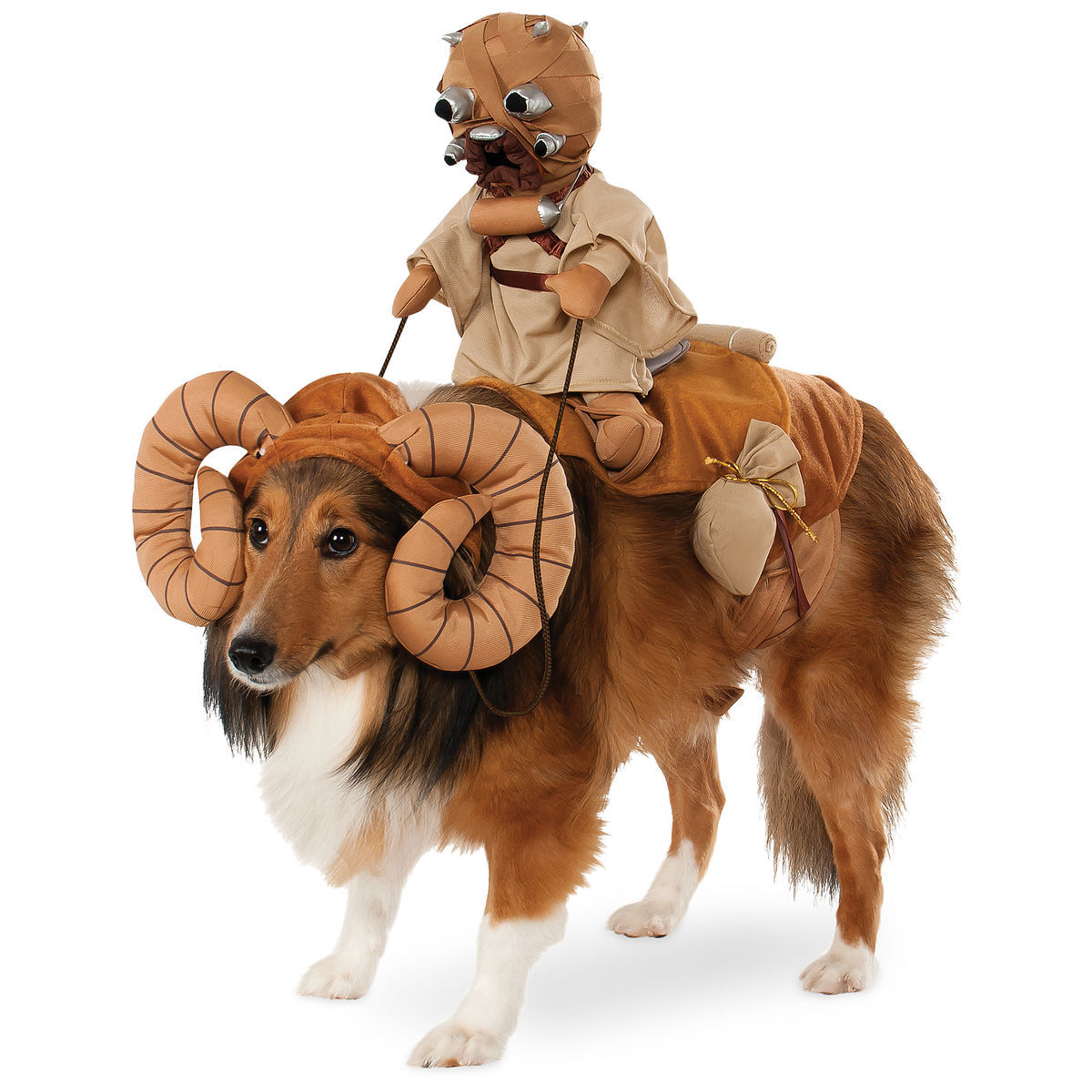 Bantha With Tusken Raider Pet Costume By Rubie S Star Wars