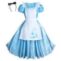 Image of Alice Deluxe Costume for Adults by Disguise # 3