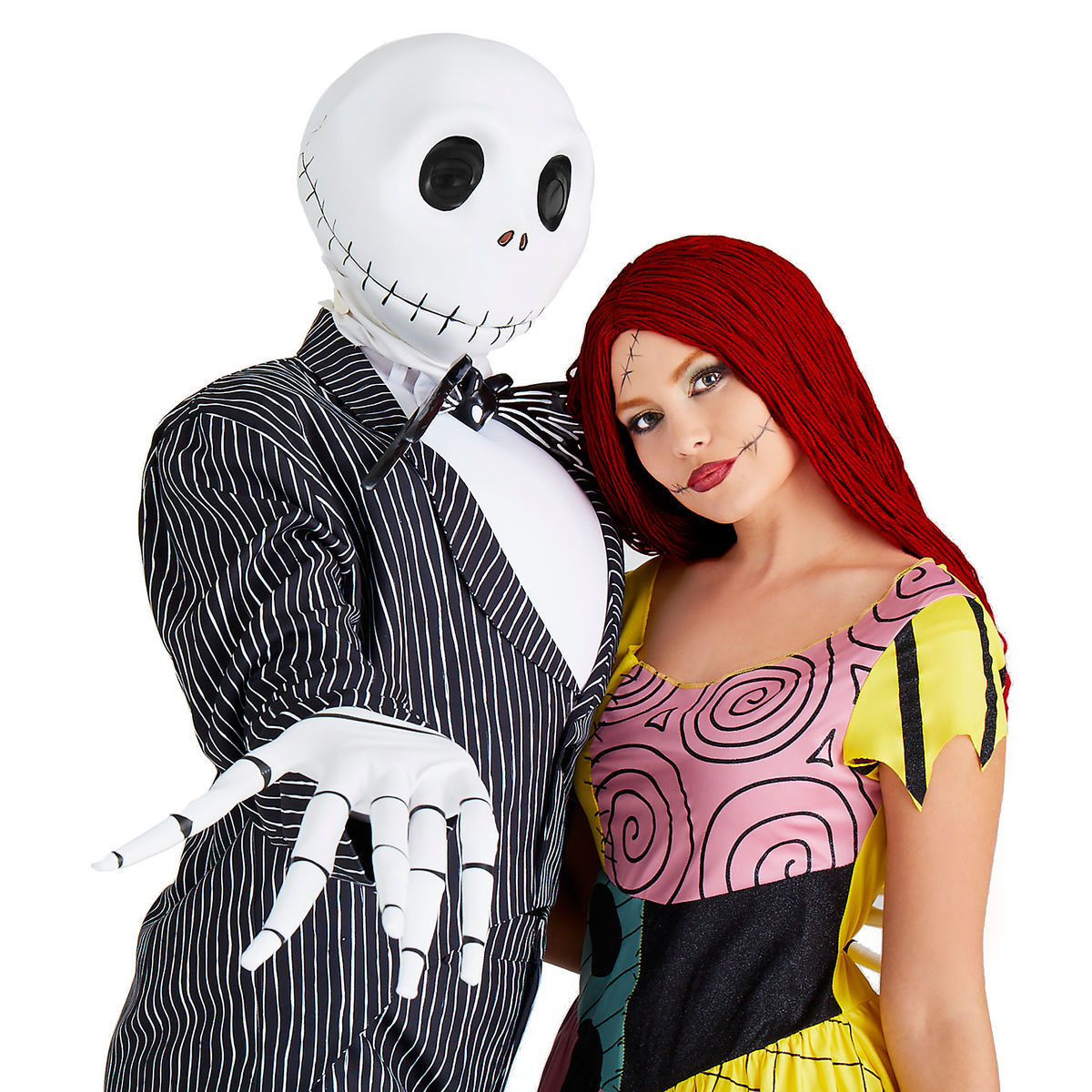 jack skellington deluxe costume for adultsdisguise   shopdisney
