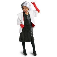 Image of Cruella De Vil Costume for Kids # 1