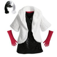 Image of Cruella De Vil Costume for Kids # 2