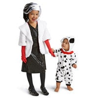 Image of Cruella De Vil Costume for Kids # 3