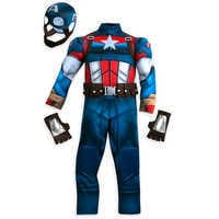 Image of Captain America Costume for Kids # 2