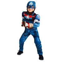 Image of Captain America Costume for Kids # 1