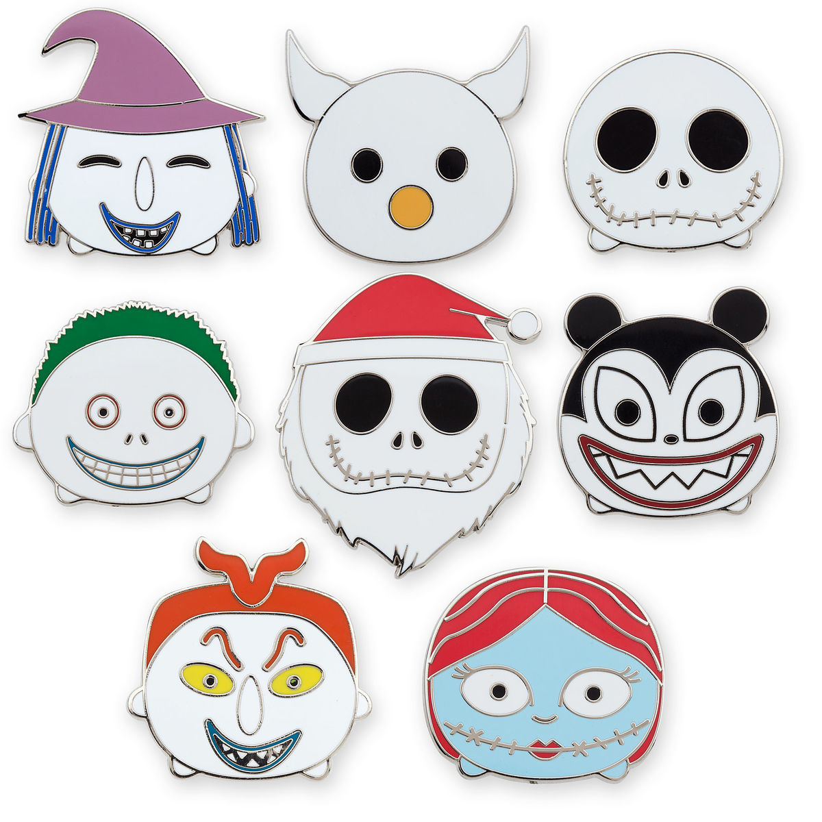 Nightmare Before Christmas \'\'Tsum Tsum\'\' Mystery Pin Set | shopDisney