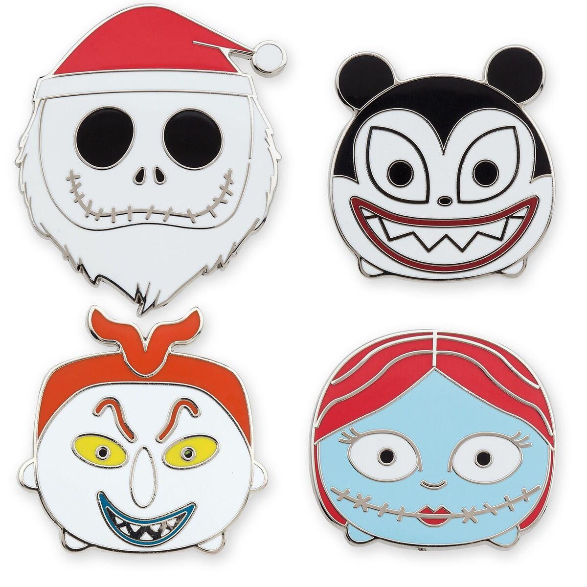 Nightmare Before Christmas \'\'Tsum Tsum\'\' Mystery Pin Set | shopDisney