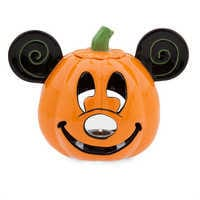 Image of Mickey Mouse Pumpkin Votive Candle Holder # 1