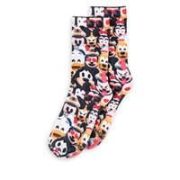 Image of Disney Cruise Line Emoji Socks for Adults # 2